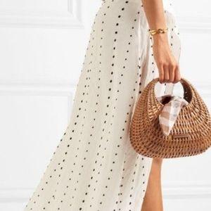 Loeffler Randall wicker bag